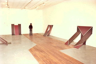 Installation View at Solo Exhibition 1977